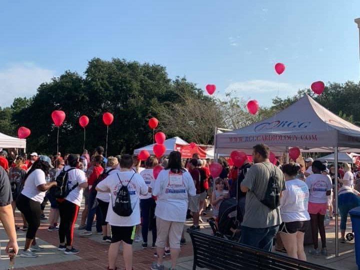 American Association Heart Walk2